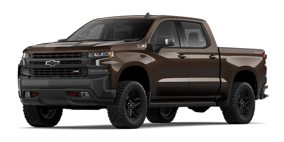 Cheyenne 2020 pickup doble cabina color moca metálico